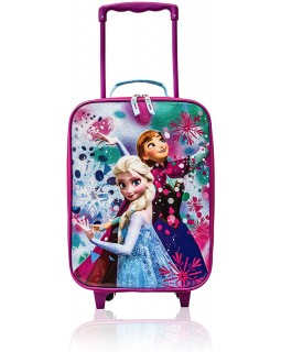 "Disney Frozen Kids 18"" Softside Carry-On Rolling Suitcase"