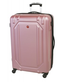 "Swiss Gear 28"" Spinner Expandable Luggage Escapade 3 Dusty Rose"