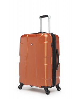 "Swiss Gear Cote D'Azure 24"" Spinner Expandable Luggage Orange"