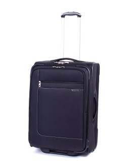 "Ricardo Beverly Hills 24"" Expandable Luggage Sausalito Lites 2.0 Black"