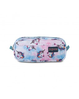 JanSport Large Accessory Pouch Unicorn Clouds