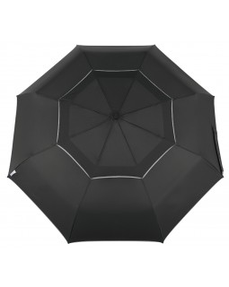 Reflectek Compact Vented Panels Umbrella Auto Open / Close Jumbo Black