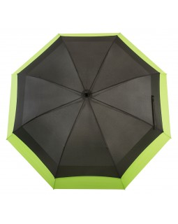 Knirps Belami Jumbo Windproof Stick Umbrella Black / Green