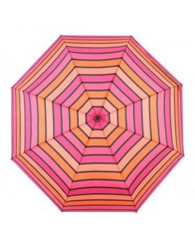 Knirps Belami Folding Telescopic Umbrella Automatic Open & Close Funky Stripes Print