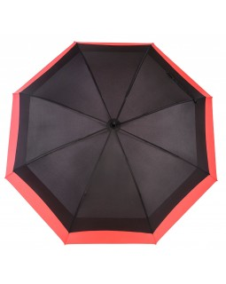 Knirps Belami Jumbo Windproof Stick Umbrella Black / Red