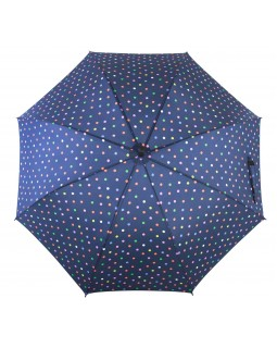 Knirps Belami Stick Umbrella Automatic Open Polka dot