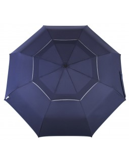 Reflectek Compact Vented Panels Umbrella Auto Open / Close Jumbo Blue