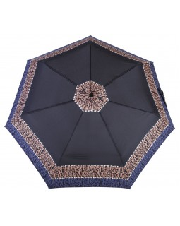 Derby Hit Mini Automatic Open Folding Telescopic Umbrella Leo Print