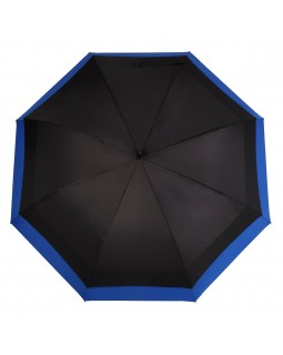 Knirps Belami Jumbo Windproof Stick Umbrella Black / Blue