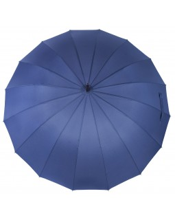 Knirps Belami Stick Umbrella with Wooden Handle Navy