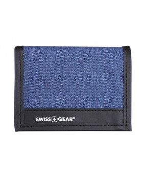 Swiss Gear Trifold Wallet Denim