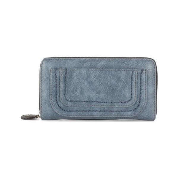 Joanel Barbara Women's Wallet With RFID Denim