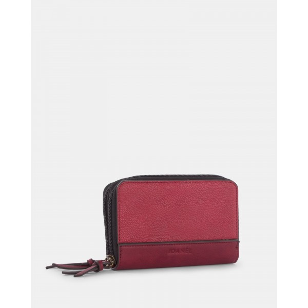 Joanel Isabelle 2.0 -Women's Wallet Red