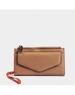 Co Lab Wristlet Wallet Sara Camel