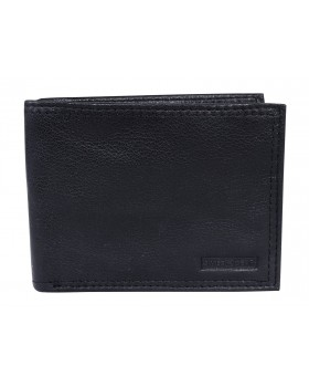 Swiss Gear Leather Slim Billfold Wallet RFID