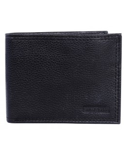 Swiss Gear Leather Billfold Wallet with Middle ID Flap RFID